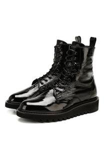 Кожаные ботинки Giuseppe Zanotti Design