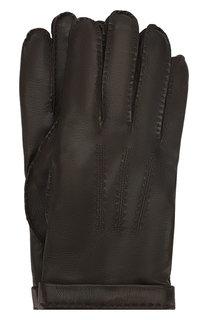 Кожаные перчатки Cortigiani