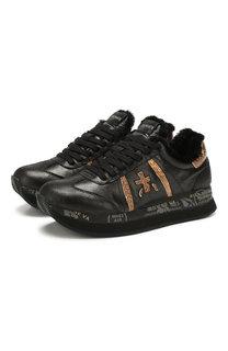 Кожаные кроссовки Conny Premiata