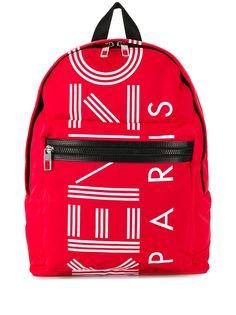 Kenzo рюкзак с принтом логотипа