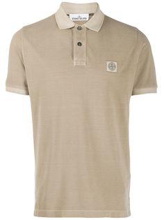 Stone Island рубашка-поло с логотипом