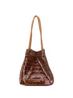 Rejina Pyo сумка-ведро Rita с тиснением под кожу крокодила