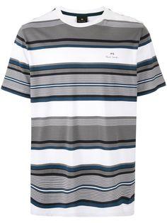 PS Paul Smith полосатая футболка с короткими рукавами