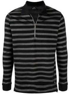 PS Paul Smith полосатая рубашка-поло с длинными рукавами