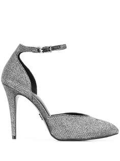 Michael Michael Kors туфли с эффектом металлик