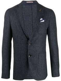Paoloni твидовый пиджак
