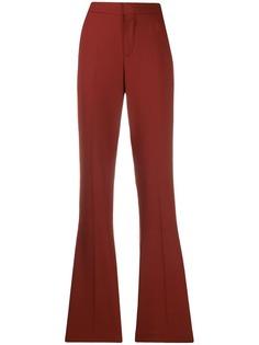 Chloé расклешенные брюки с завышенной талией
