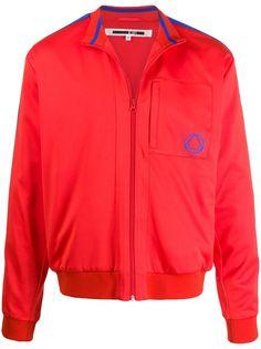 McQ Alexander McQueen спортивная куртка с логотипом