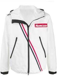 Moncler спортивная куртка с нашивкой-логотипом