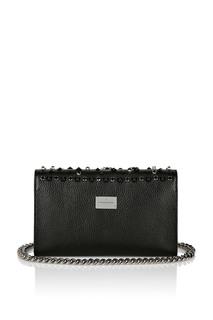 Черная сумка с отделкой Philipp Plein