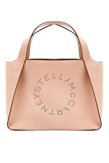 Сумка-тоут Stella Logo розового цвета