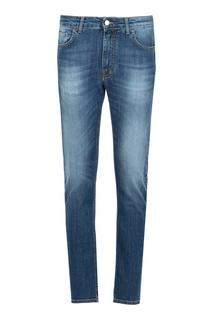 Синие узкие джинсы Ice Play