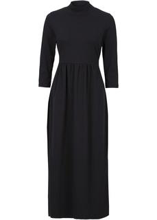 Трикотажное платье с рукавами длиной 3/4 Bonprix