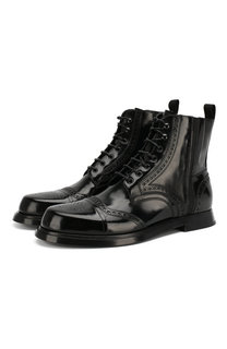 Кожаные ботинки Dolce & Gabbana