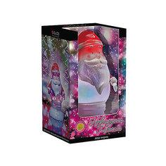 Светильник со светодиодами GLOS Новогодняя метель, Дед Мороз