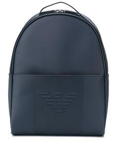 Emporio Armani рюкзак с тисненым логотипом