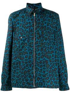 Paul Smith куртка на молнии с леопардовым принтом