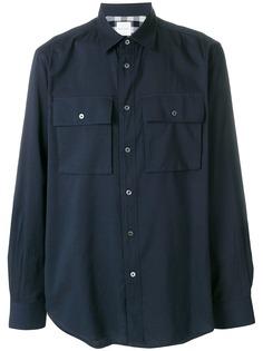 Paul Smith повседневная рубашка с нагрудными карманами