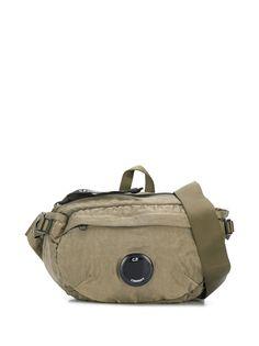 CP Company поясная сумка с карманом на молнии