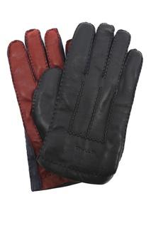 Перчатки из матовой кожи Etro