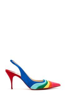 Разноцветные слингбэки Degradama 80 Christian Louboutin