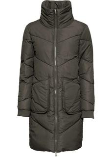 Пальто стёганое с воротником-стойкой Bonprix