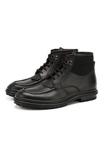 Кожаные ботинки Ermenegildo Zegna