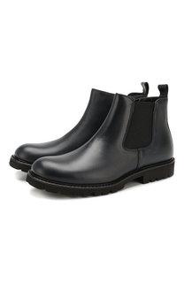 Кожаные ботинки Lanvin