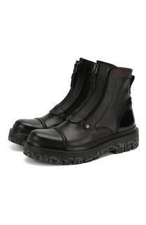 Кожаные ботинки Zegna Couture