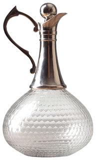 Графин Eichholtz RO-5350/HMN Прозрачный, серебристый