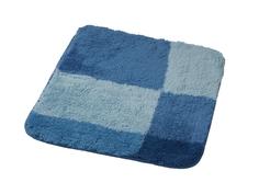 Коврик для ванной комнаты Pisa синий/голубой 55*50 Ridder