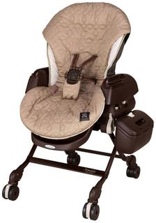 Люлька-стульчик Combi Nemulila без пледа коричневая