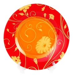 Тарелка Pasabahce Serenade orange 19,5 см