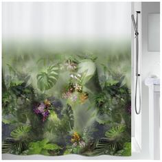 Штора для ванной Spirella Jungle 180х200 см 1020157 Зеленый