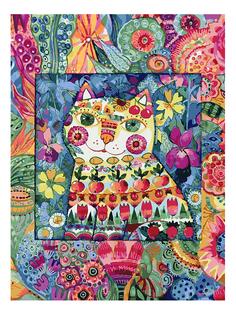 Раскраска по номерам Белоснежка Кот в окошке
