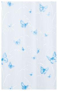 Штора для ванной Spirella Butterfly Белая