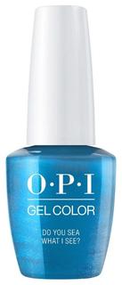 Лак для ногтей OPI Classic GelColor Do You Sea What I Sea 15 мл