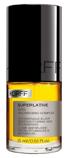 Эликсир Korff Superlative Antiwrinkle Restructuring Nourishing Elixir 15 мл
