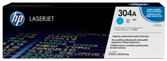 Картридж HP CC531A №304А для LaserJet CP2025 CM2320 голубой