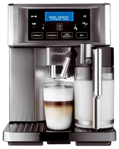 Кофемашина автоматическая DeLonghi PrimaDonna Avant ESAM 6704 Silver/Black Delonghi