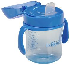 Чашка-непроливайка DrBrowns TC61004 Голубая Dr. Brown'S