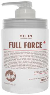 Маска для волос Ollin Professional Full Force Восстанавливающая с маслом кокоса 650 мл