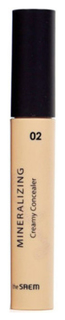 Консилер The SAEM Mineralizing Creamy Concealer 02 Ginger 4 мл