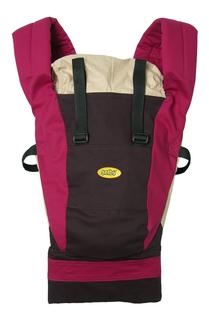 Рюкзак для переноски детей Тополь Selby Freedom шоколад/бордо