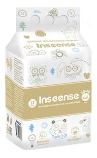 Пеленки впитывающие Inseense 60х60, 12 шт Insinse
