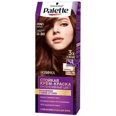 Краска для волос Palette Стойкая крем-краска RN5 Марсала