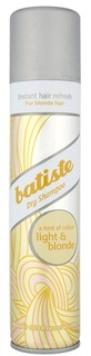 Сухой шампунь BATISTE Light Brilliant Blonde, 200 мл