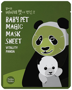 Маска для лица Holika Holika Baby Pet Magic Mask Sheet Vitality Panda 22 мл