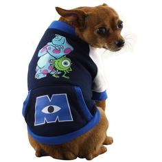 Толстовка для собак Triol размер M мужской, синий, белый, длина спины 28 см