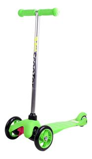 Самокат трехколесный Shantou Gepai F11801, 034 зеленый